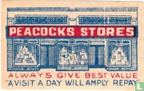 Peacocks stores
