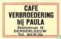 Cafe Verbroedering bij Paula