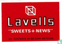 """Lavells """"Sweets + news"""""""