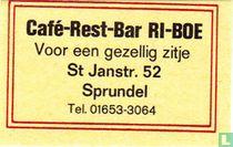 Café-Rest-Bar RI-BOE