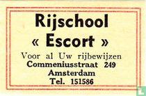 """Rijschool """"Escort"""""""
