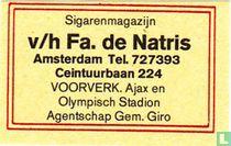 Sigarenmagazijn v/h Fa. de Natris