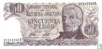 Argentinië 50 Pesos 1976