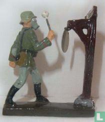 Infanterist gasalarm
