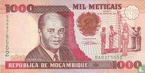 Mozambique Meticais 1000