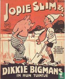 Jopie Slim & Dikkie Bigmans in hun tuintje 6