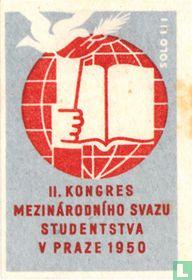 II. Kongres mezinárodniho svazu studentstva v praza 1950