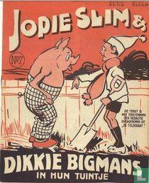 Jopie Slim & Dikkie Bigmans in hun tuintje 7