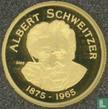 "Benin 1500 francs 2005 (PROOF) ""130th anniversary of the birth and 40th anniversary of the death of Albert Schweitzer"""