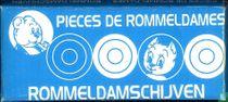 Doosje Rommeldamschijven blauw