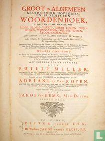 Groot en algemeen kruidkundig hoveniers, en bloemisten woordenboek (…) 1