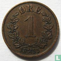 Norwegen 1 Øre 1891