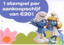 1 stempel per aankoopschijf van €20!