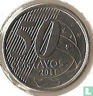 Brazilië 50 centavos 2011