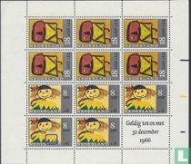 Kinderzegels (PM Blok)