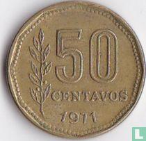 Argentina 50 centavos 1971
