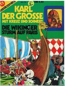 Karl der Grosse mit Kreuz und Schwert