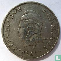 Frans-Polynesië 20 francs 1969