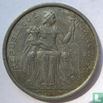 Frans-Polynesië 2 francs 1973