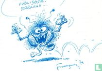 Original drawing André Franquin