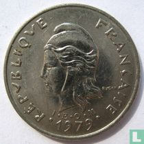 Frans-Polynesië 10 francs 1979