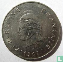 Frans-Polynesië 50 francs 1967