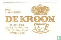 Bar-Lunchroom De Kroon