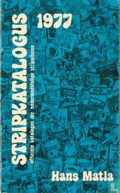 Stripkatalogus 1977 - Officiële katalogus der Nederlandstalige stripalbums
