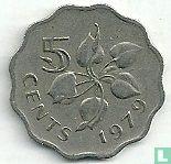 Swaziland 5 cents 1979