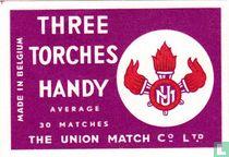Three Torches Handy