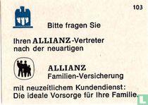 Allianz matchcovers catalogue