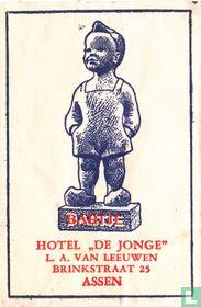 """Bartje Hotel """"De Jonge"""""""