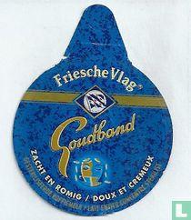 Friesche vlag  - Goudband