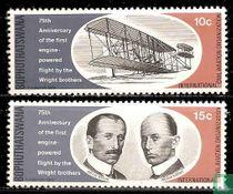 75 jaar eerste gemotoriseerde vlucht