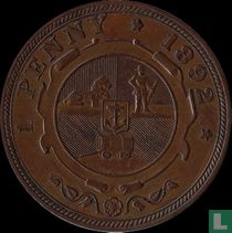 Afrique du Sud 1 penny 1892