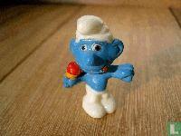 Gourmand Smurf