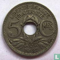 Frankrijk 5 centimes 1937