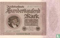 Duitsland 100.000 Mark (P83a)