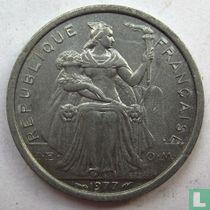 Frans-Polynesië 1 franc 1977