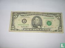 Verenigde Staten 5 dollars 1995 A