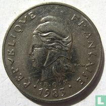 Frans-Polynesië 10 francs 1983