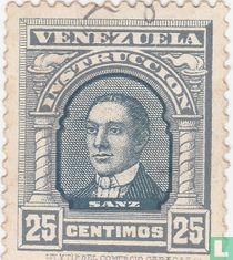 Miguel José Sanz, Instrucción