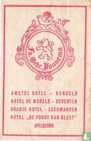 Amstel Hotel - Fa. Gebr. Bonnema