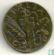 Italien 10 Centesimi 1942