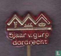 5 jaar van Gurp Dordrecht [rood]
