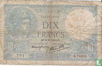 Frankrijk 10 Francs