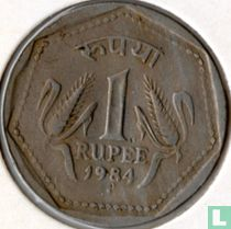 India 1 rupee 1984 (Mumbai/Bombay) kopen