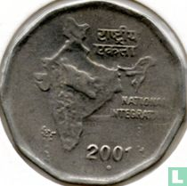 "India 2 rupees 2001 (Noida) ""National Integration"" kopen"