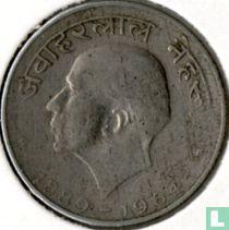 "India 50 paise 1964 (Calcutta - Hindi legende) ""Death of Jawaharlal Nehru"""