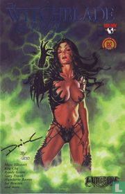 The Witchblade gallery - Signed Blue Foil Edition